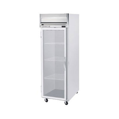 "Beverage Air HF1-1G 26"" One Section Reach-In Freezer, (1) Glass Door, 115v"