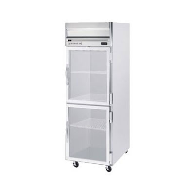 "Beverage Air HF1-1HG 26"" One-Section Reach-In Freezer, (2) Glass Doors, 115v"