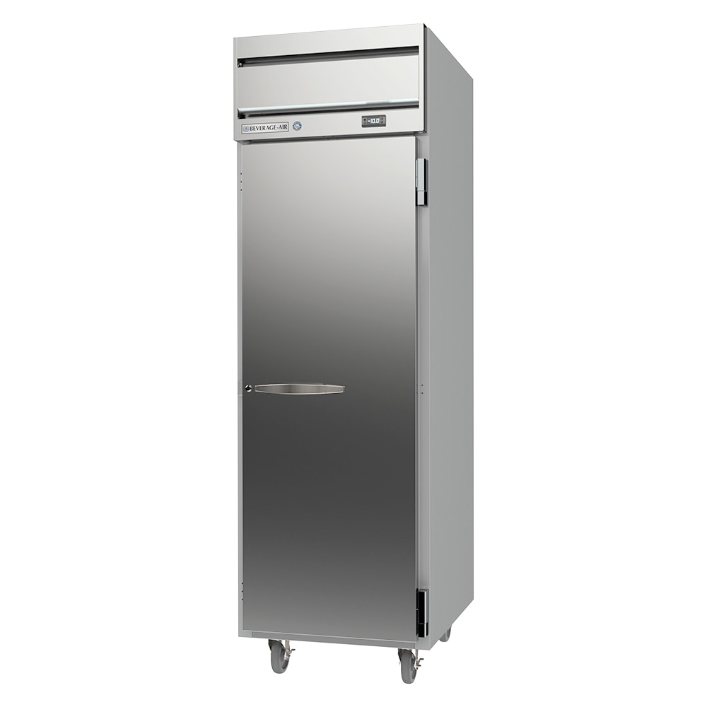 """Beverage Air HF1HC-1S 26"""" One Section Reach-In Freezer, (1) Solid Door, 115v"""