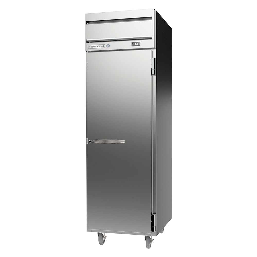 "Beverage Air HFP1HC-1S 26"" One Section Reach-In Freezer, (1) Solid Door, 115v"