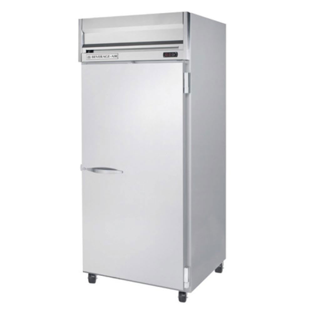 "Beverage Air HFP1W-1S 35"" One Section Reach-In Freezer, (1) Solid Door, 115v"