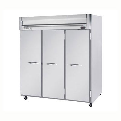 """Beverage Air HRPS3-1S 78"""" Three Section Reach-In Refrigerator, (3) Solid Doors, 115v"""