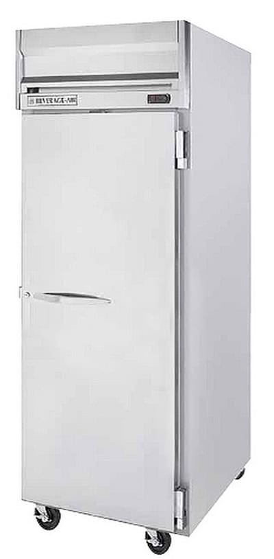 """Beverage Air HRS1W-1S 35"""" Single Section Reach-In Refrigerator, (1) Solid Door, 115v"""