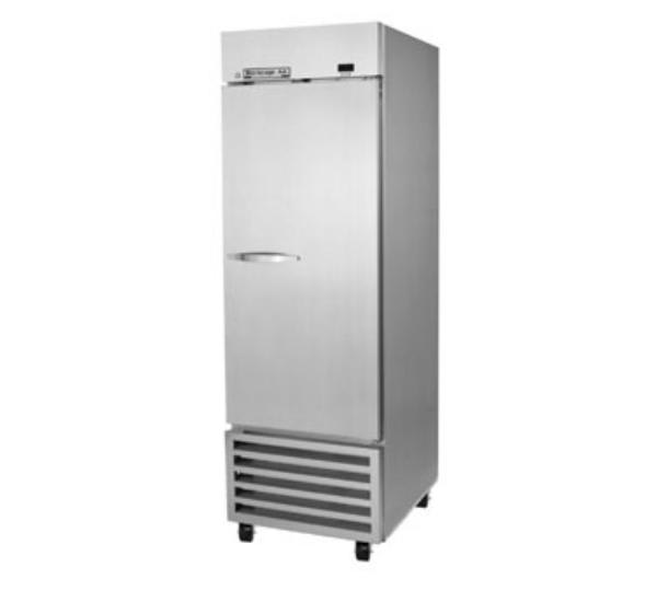 "Beverage Air KR24-1AS 27"" Single Section Reach-In Refrigerator, Solid Door, 115v"