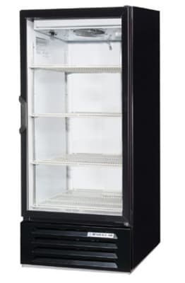 "Beverage Air LV10-1-B-LED 24"" One-Section Glass Door Merchandiser w/ Swing Doors, 115v"