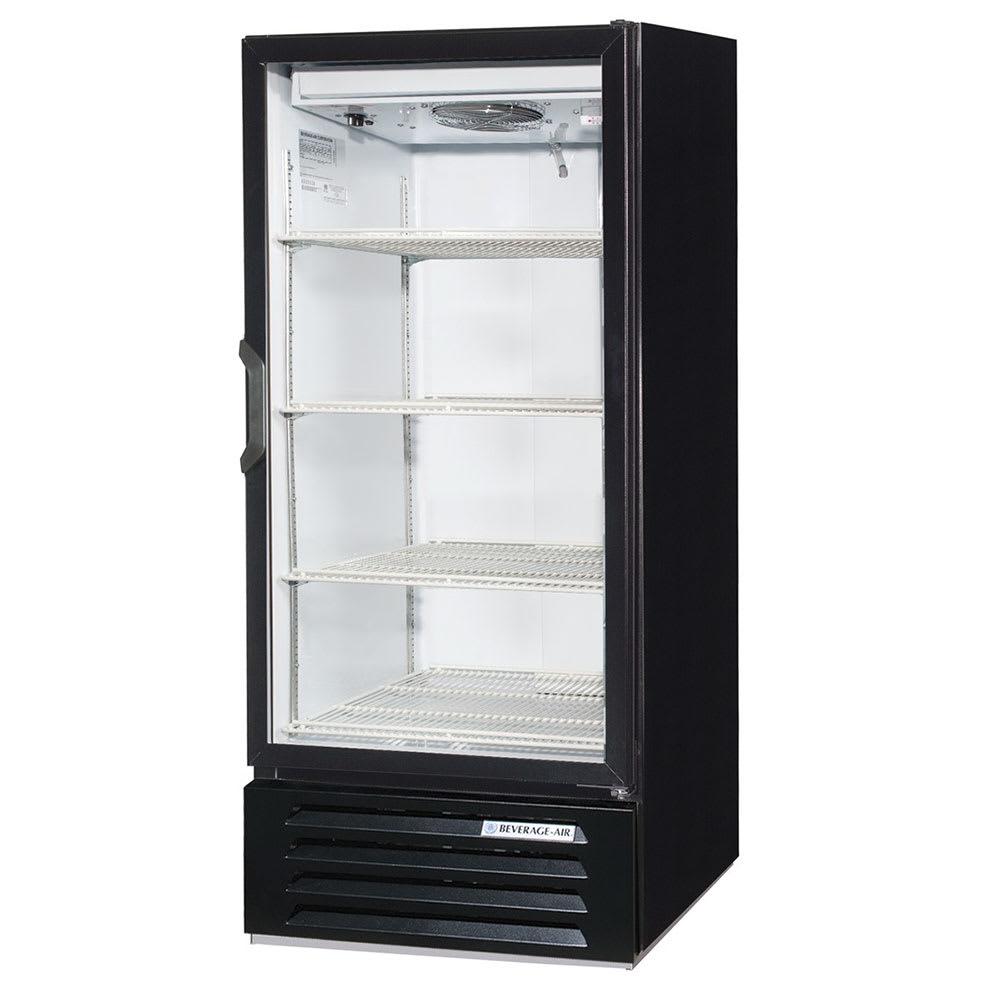"""Beverage Air LV10HC-1-B 24"""" One-Section Glass Door Merchandiser w/ Swing Door, 115v"""