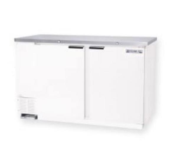 Beverage Air MS58-1-S 23.8-cu ft Undercounter Refrigerator w/ (2) Sections & (2) Doors, 115v