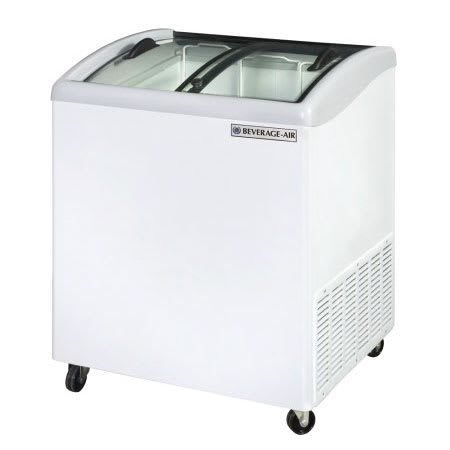 "Beverage Air NC28-1-W 28.2"" Mobile Ice Cream Freezer w/ 2- Baskets, 115v"