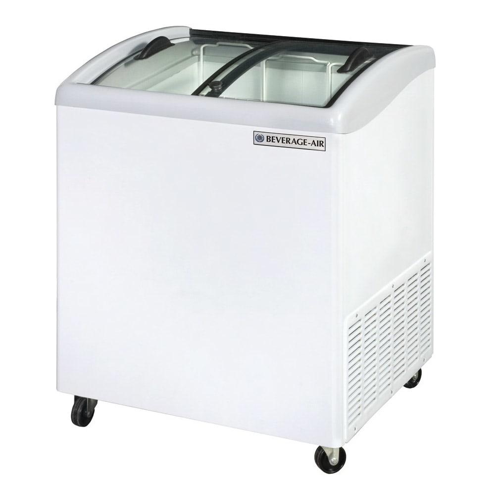"Beverage Air NC28HC-1-W 28.2"" Mobile Ice Cream Freezer w/ 2- Baskets, 115v"