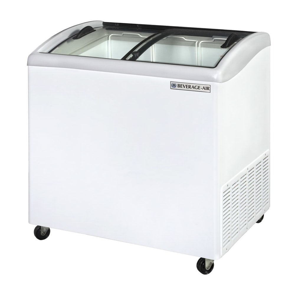 "Beverage Air NC34HC-1-W 34.11"" Mobile Ice Cream Freezer w/ 2  Baskets, 115v"