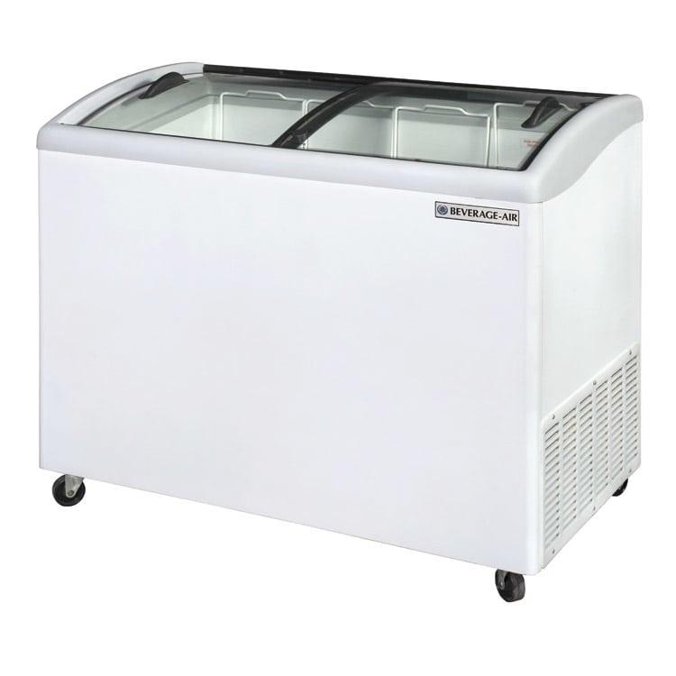 "Beverage Air NC51HC-1-W 50.64"" Mobile Ice Cream Freezer w/ 2  Baskets, 115v"
