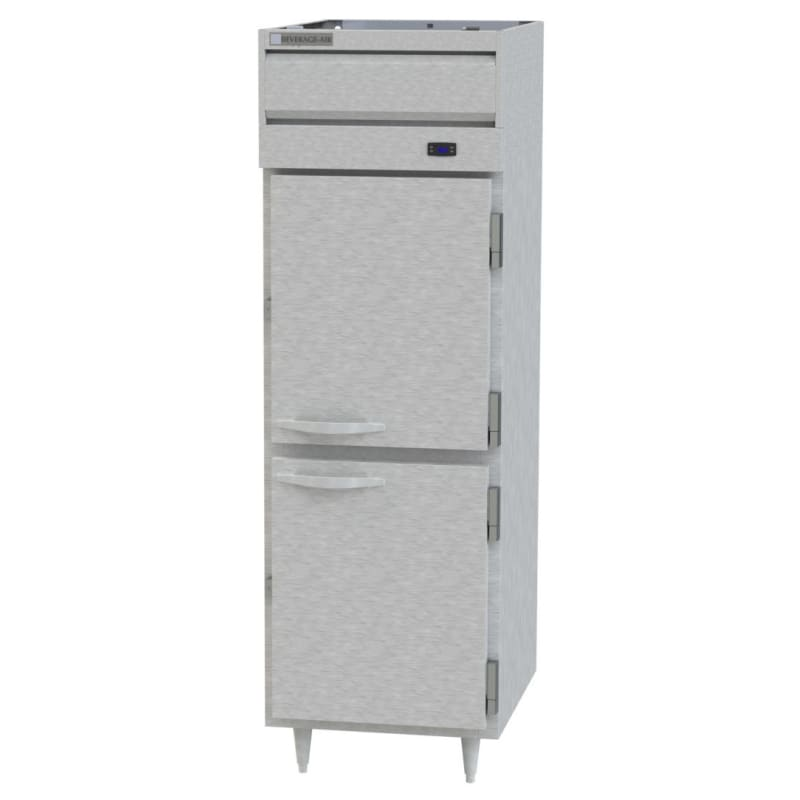 Beverage Air PH1-1S-PT Full Height Insulated Mobile Heated Cabinet w/ (3) Pan Capacity, 208-240v/1ph