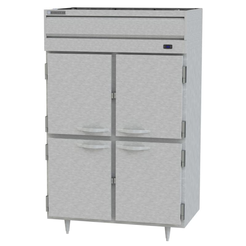Beverage Air PH2-1S Top Mount Warming Cabinet w/ 2-Doors, Aluminum Exterior, 46.5-cu ft, 208-240v/1ph