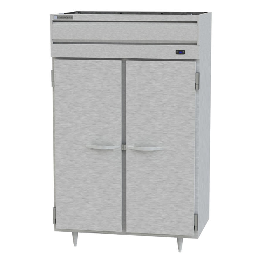 Beverage Air PH2-1S-PT Full Height Insulated Mobile Heated Cabinet w/ (6) Pan Capacity, 208 240v/1ph