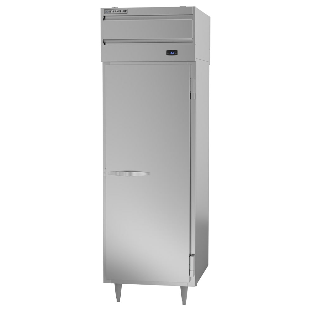 """Beverage Air PRD1-1AS 26"""" Single Section Pass-Thru Refrigerator, (2) Solid Doors, 115v"""