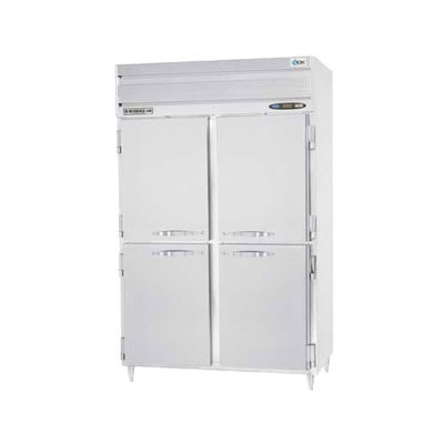 "Beverage Air PRF24-24-1AHS-02 52"" Two Section Commercial Refrigerator Freezer, Solid Doors, Top Compressor, 115v"