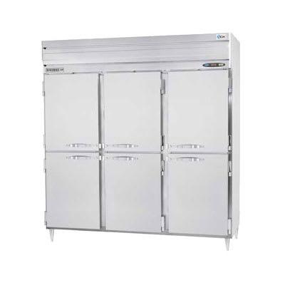 "Beverage Air PRF48-24-1AHS02 78"" Three Section Commercial Refrigerator Freezer - Solid Doors, Top Compressor, 115v"