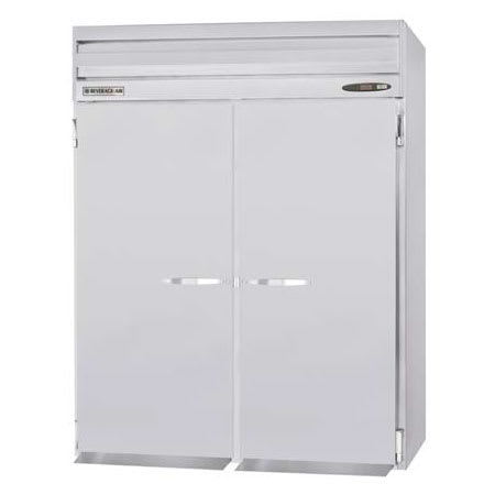"Beverage Air PRI2-1AS 66"" Two Section Roll-In Refrigerator, (2) Solid Door, 115v"