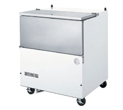 Beverage Air SM34N-W Milk Cooler w/ Top & Side Access - (512) Half Pint Carton Capacity, 115v