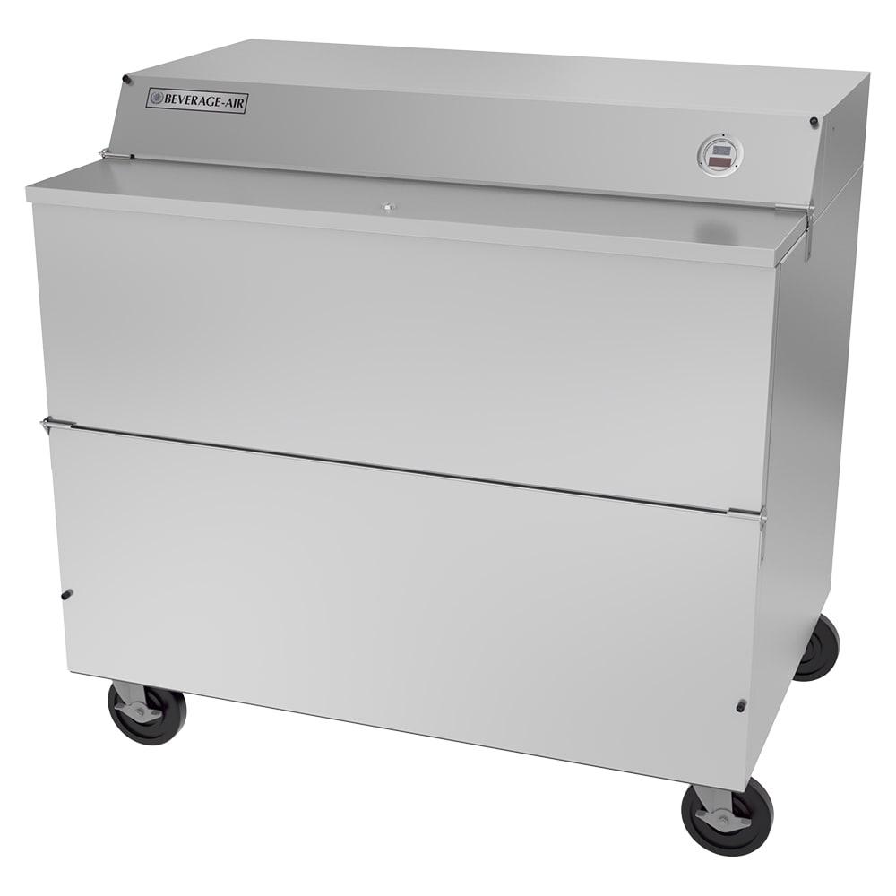 Beverage Air SMF49HC-1-S Milk Cooler w/ Top & Side Access - (768) Half Pint Carton Capacity, 115v