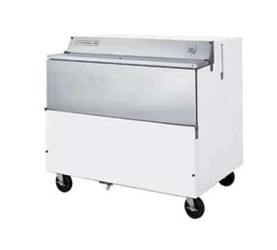 Beverage Air SMF49Y1S Milk Cooler w/ Top & Side Access - (768) Half Pint Carton Capacity, 115v