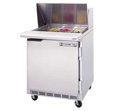 "Beverage Air SPE27B 27"" Sandwich/Salad Prep Table w/ Refrigerated Base, 115v"