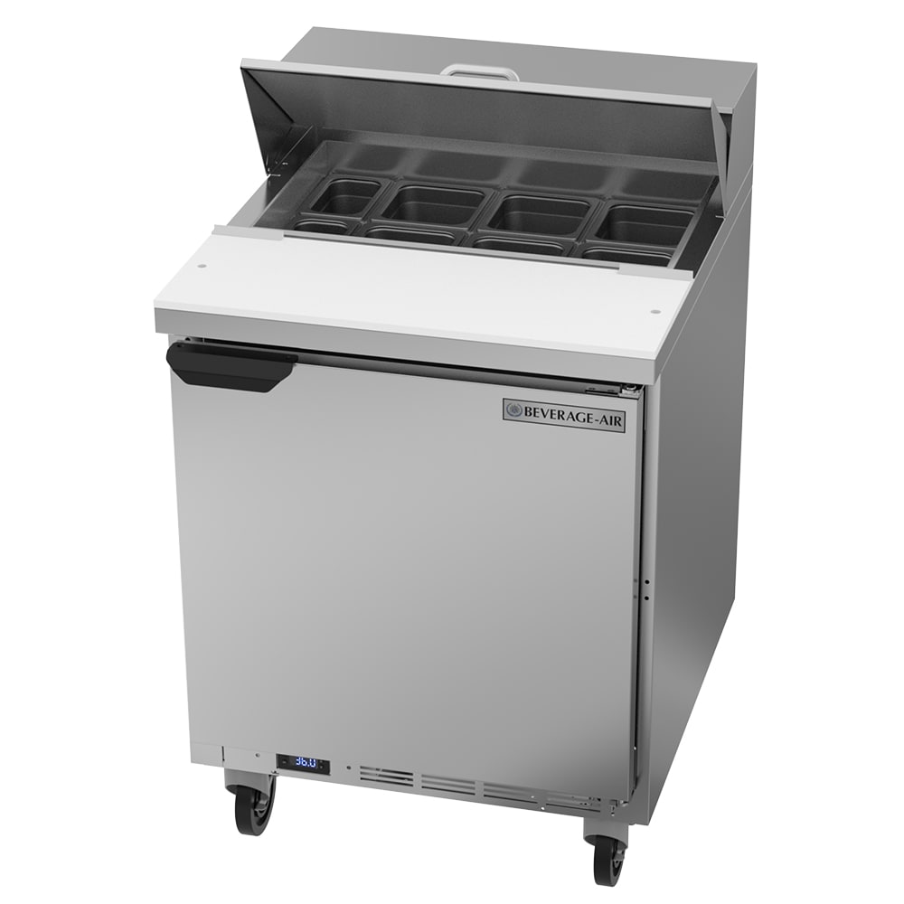 "Beverage Air SPE27HC 27"" Sandwich/Salad Prep Table w/ Refrigerated Base, 115v"