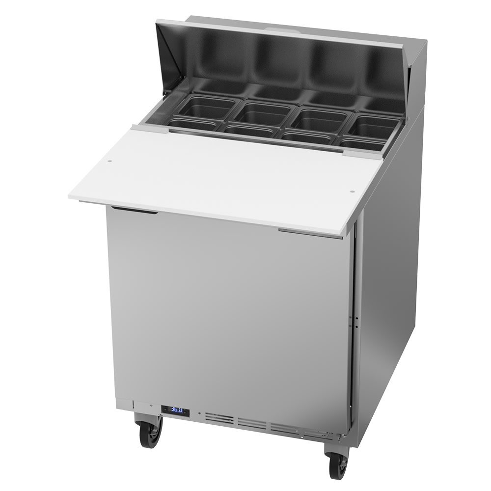 "Beverage Air SPE27HC-C-B 27"" Sandwich/Salad Prep Table w/ Refrigerated Base, 115v"