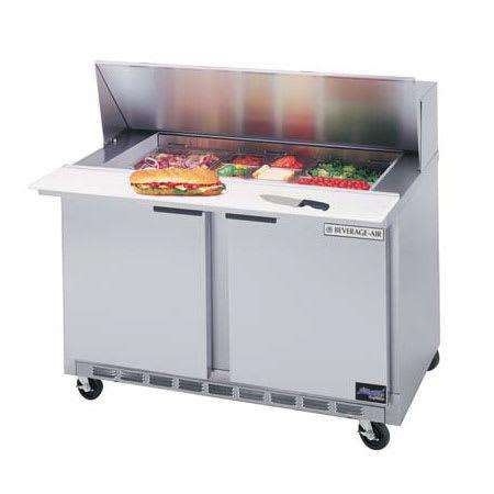 "Beverage Air SPE36-15M 36"" Sandwich/Salad Prep Table w/ Refrigerated Base, 115v"