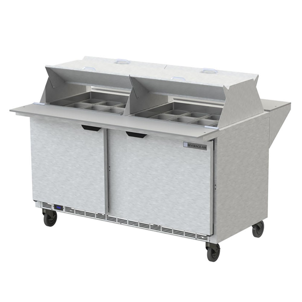 Fine Beverage Air Spe60Hc 24M Ds 60 Sandwich Salad Prep Table W Refrigerated Base 115V Home Remodeling Inspirations Genioncuboardxyz