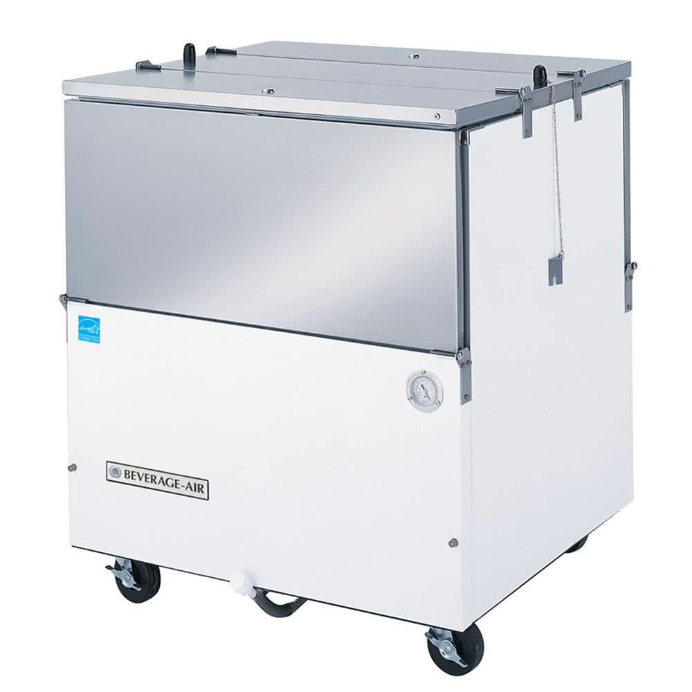 Beverage Air ST34N-W-02 Milk Cooler w/ Dual Access - (512) Half Pint Carton Capacity, 115v