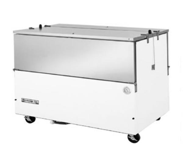 Beverage Air ST58N-S Milk Cooler w/ Top & Side Access - (1024) Half Pint Carton Capacity, 115v