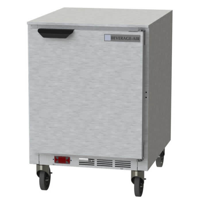 Beverage Air UCF24AHC 5.38-cu ft Undercounter Freezer w/ (1) Section & (1) Door, 115v