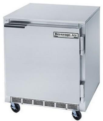 Beverage Air UCF27 6.2-cu ft Undercounter Freezer w/ (1) Section & (1) Door, 115v