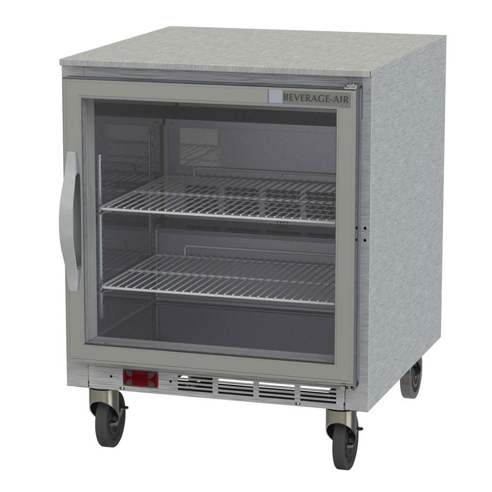 Beverage Air UCF27AHC-25 6.24 cu ft Undercounter Freezer w/ (1) Section &  (1) Door, 115v