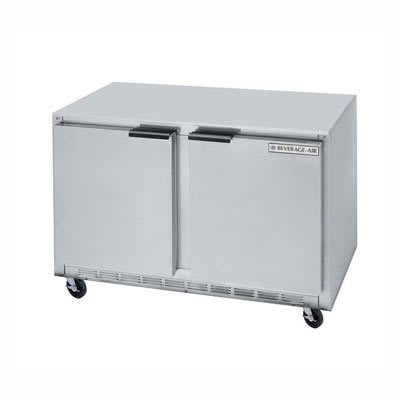 Beverage Air UCF36A 8.5-cu ft Undercounter Freezer w/ (2) Sections & (2) Doors, 115v