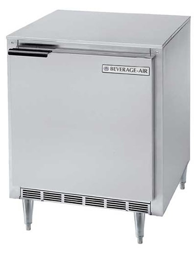 Beverage Air UCR27A-17 7.3-cu ft Undercounter Refrigerator w/ (1) Section & (1) Door, 115v