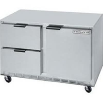 Beverage Air UCRD46A-2 16.7-cu ft Undercounter Refrigerator w/ (1) Section & (2) Drawers, 115v