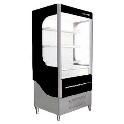 "Beverage Air VM12-1-B 35"" Vertical Open Air Cooler w/ (4) Levels, 115v"