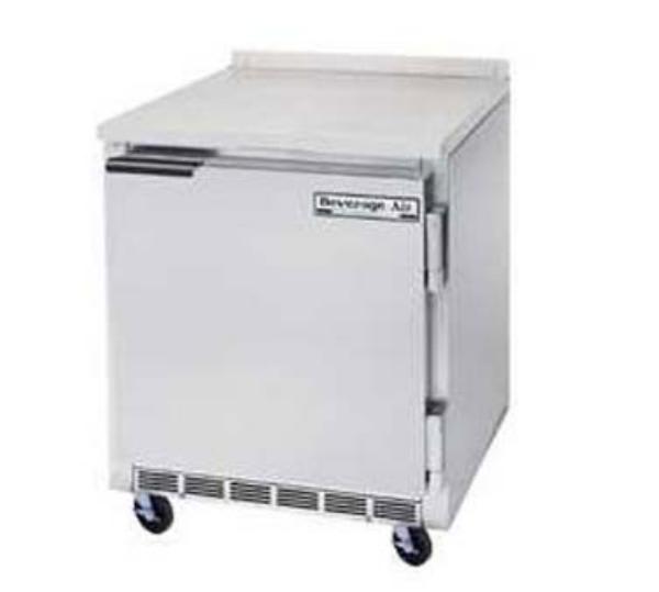 Beverage Air WTF27A 7.3-cu ft Worktop Freezer w/ (1) Section & (1) Door, 115v