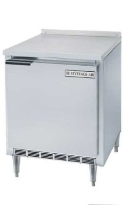 Beverage Air WTF27A-24-17 7.3-cu ft Worktop Freezer w/ (1) Section & (1) Door, 115v