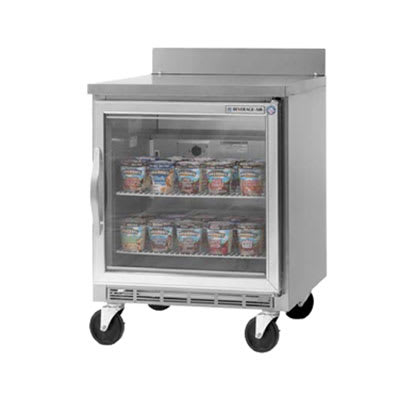 Beverage Air WTF27A-25 7.3-cu ft Worktop Freezer w/ (1) Section & (1) Door, 115v