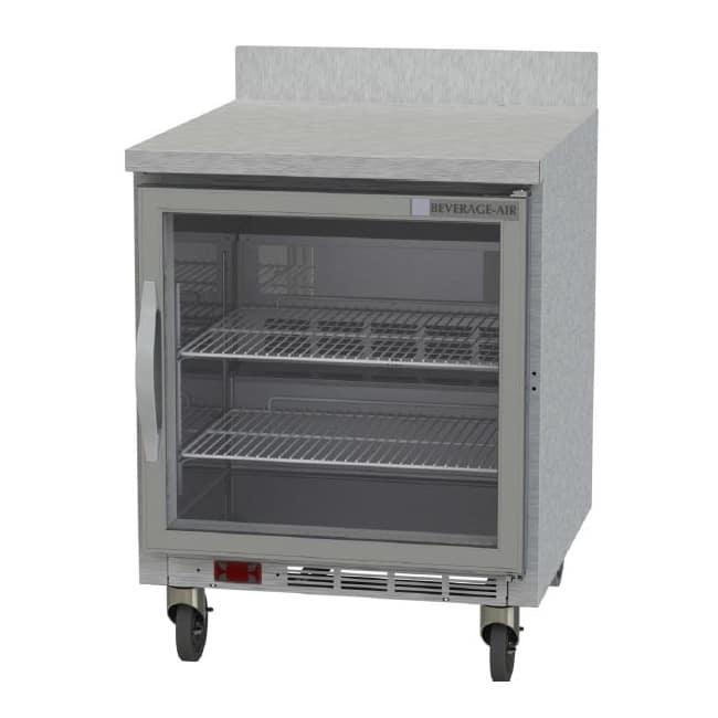 Beverage Air WTF27AHC-25 6.03 cu ft Worktop Freezer w/ (1) Section & (1) Door, 115v