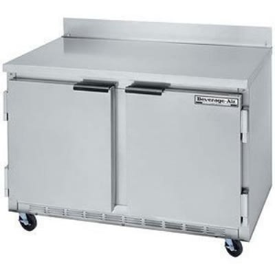 Beverage Air WTF48A-23 13.9-cu ft Worktop Freezer w/ (2) Sections & (2) Doors, 115v