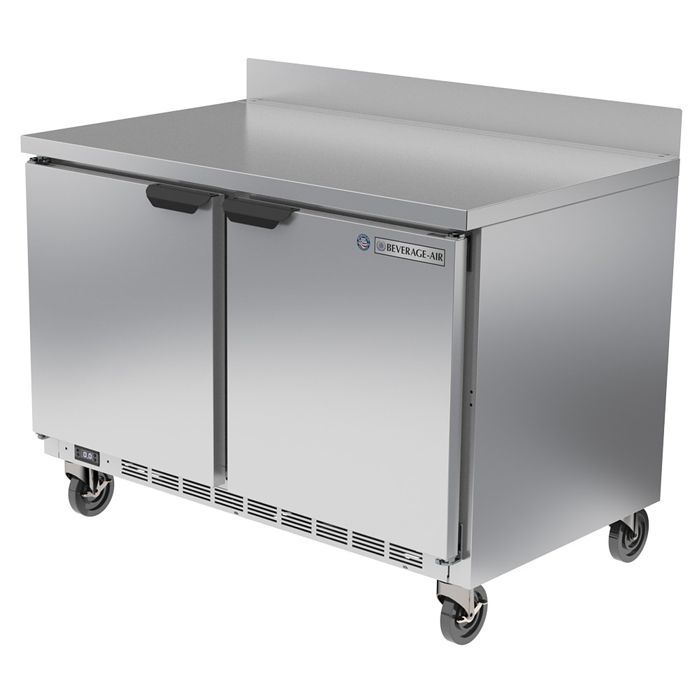 Beverage Air WTF48AHC 11.04-cu ft Worktop Freezer w/ (2) Section & (2) Door, 115v