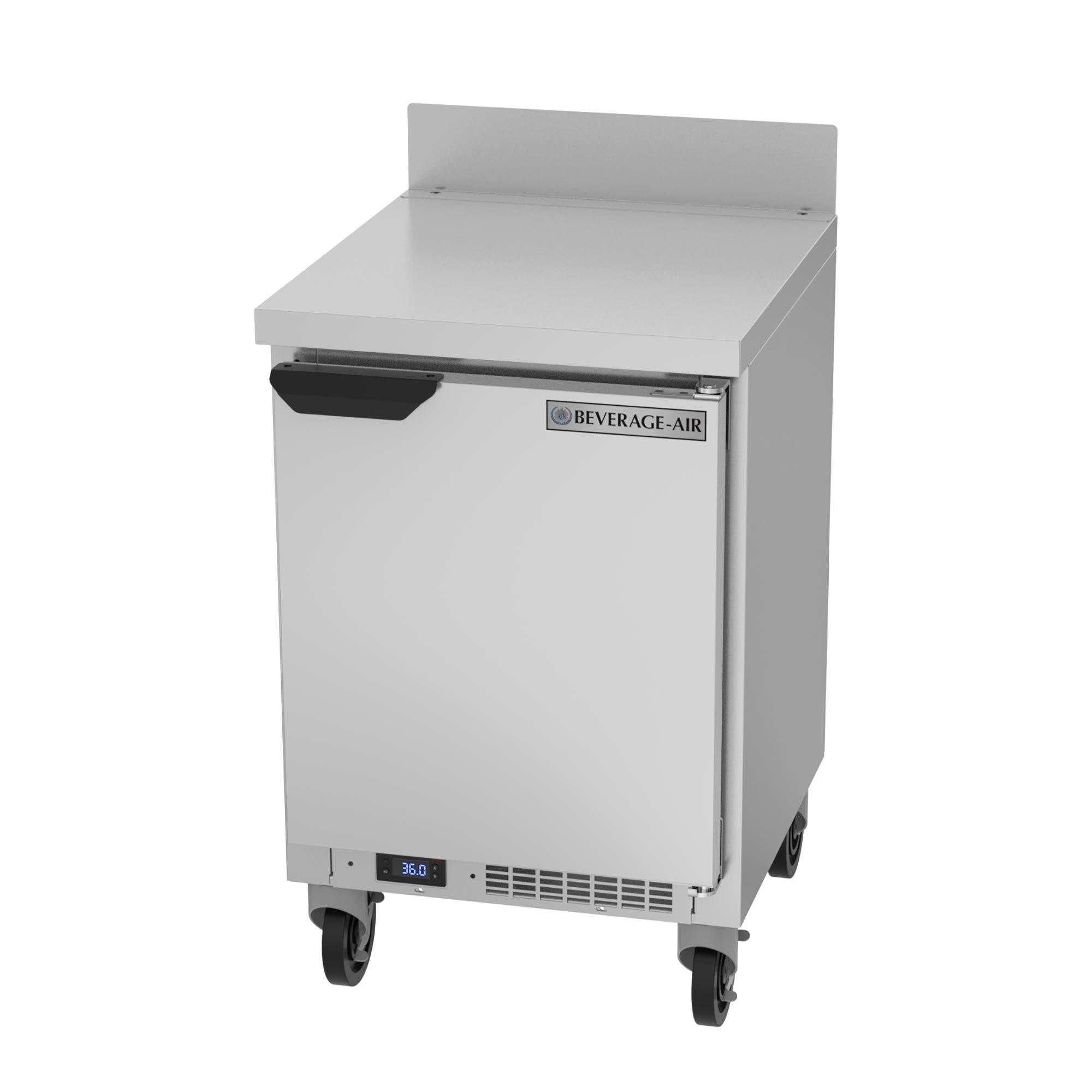 "Beverage Air WTR20HC 20"" Worktop Refrigerator w/ (1) Section, 115v"