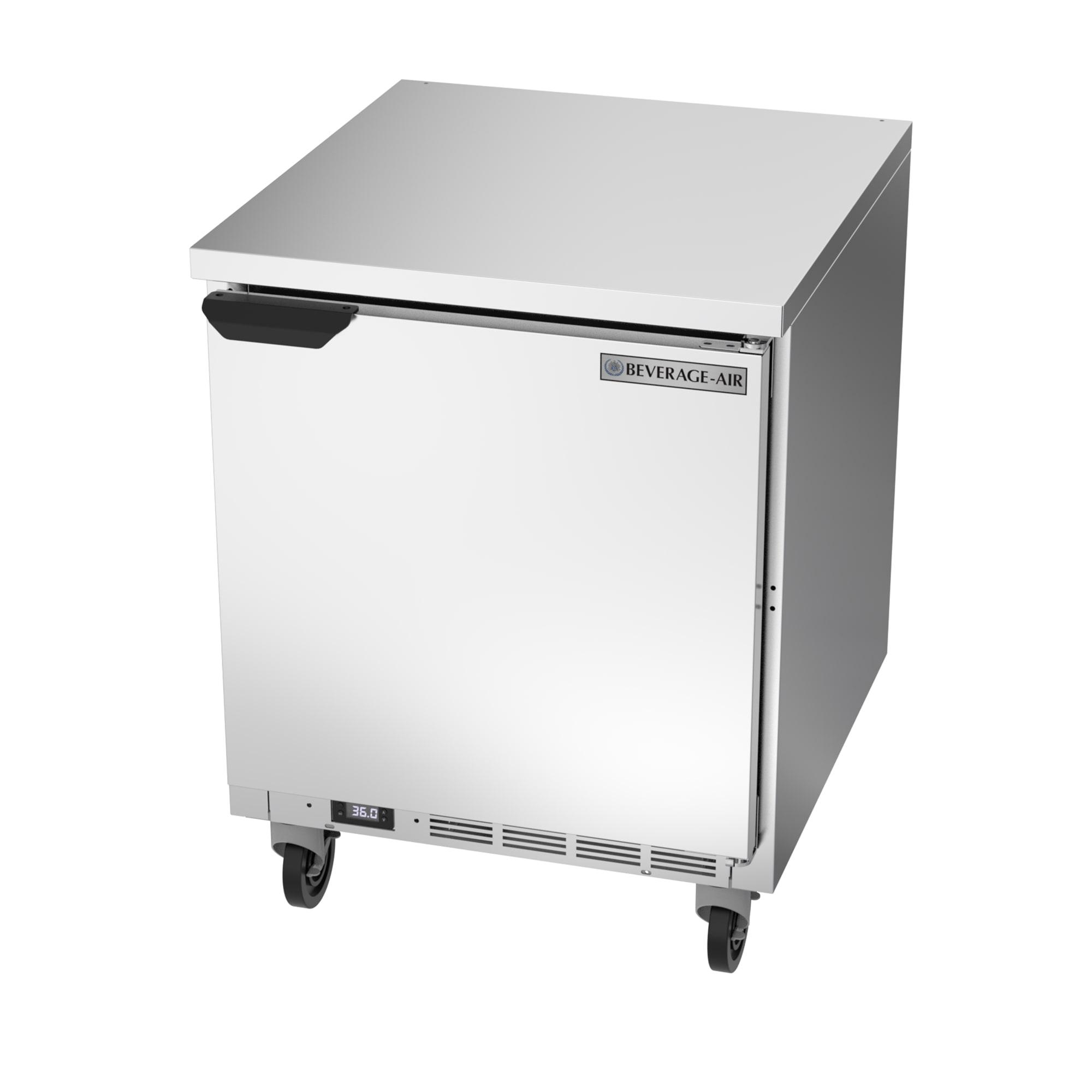 "Beverage Air WTR27AHC-FLT 27"" Worktop Refrigerator w/ (1) Section, 115v"