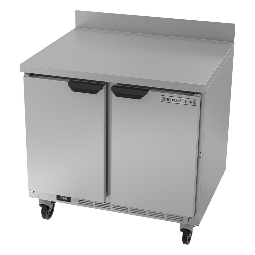 "Beverage Air WTR36AHC 36"" Worktop Refrigerator w/ (1) Section, 115v"