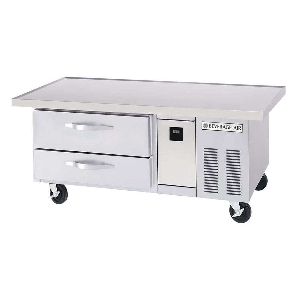 "Beverage Air WTRCS52-1-60 60"" Chef Base w/ (2) Drawers, 115v"