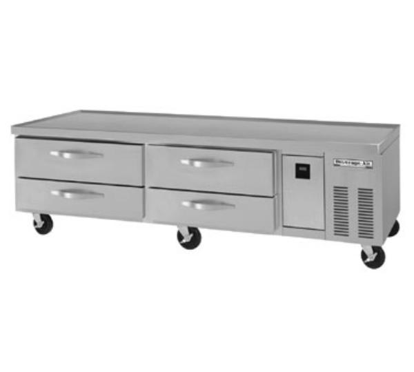 "Beverage Air WTRCS84D-1 84"" Chef Base w/ (4) Drawers - 115v"